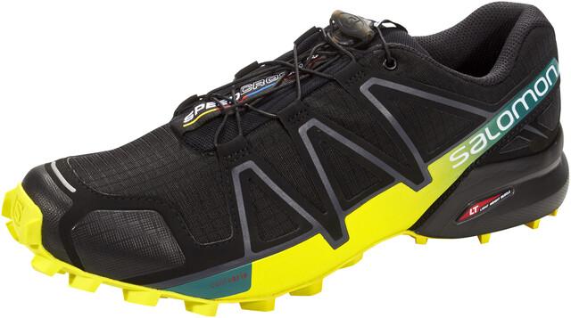 men Salomon SPEEDCROSS 4 Trail running shoes high risk red